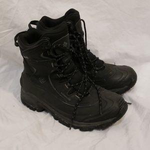 Columbia Men's Waterproof Black Boot Size 9